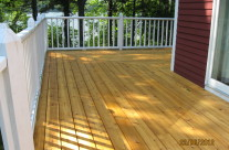 Refinished Decking Tenants Harbor Maine