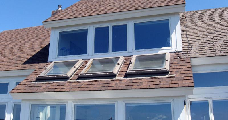 Solar Skylight Installation