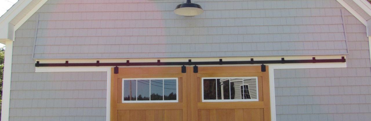 New Construction Garage in Tenants Harbor, ME