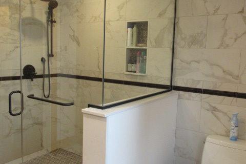 New Custom Bathroom in Coastal Maine