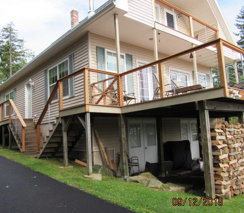 New Composite Decking and New Cable Rail System