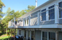 New Composite Decking & Cable Rail – St. George River View